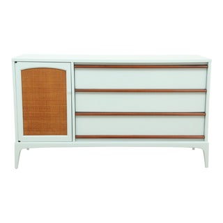 Midcentury Style Blue Sideboard