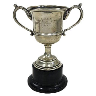 1937 Silver-Plate Football Trophy