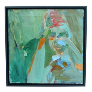Emily Farnham Untitled Green Portrait