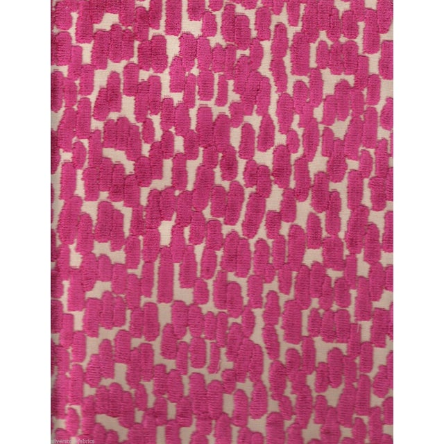 Abstract Pink Velvet - 4.125 Yards - Image 1 of 2