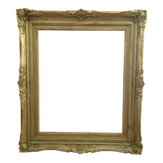 Vintage French Baroque Gold Art Frame 20x24""