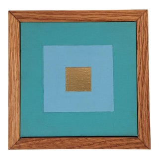 Small Framed Modern Painting by Tony Curry