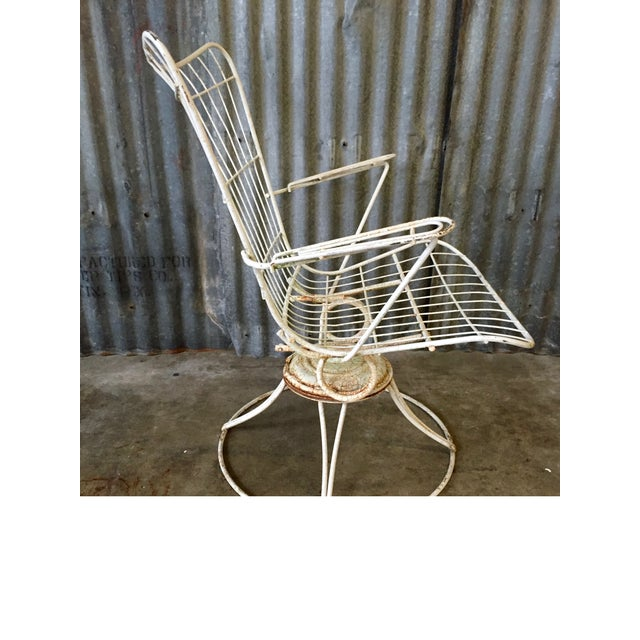 Vintage Homecrest Swivel Chairs - A Pair - Image 10 of 11
