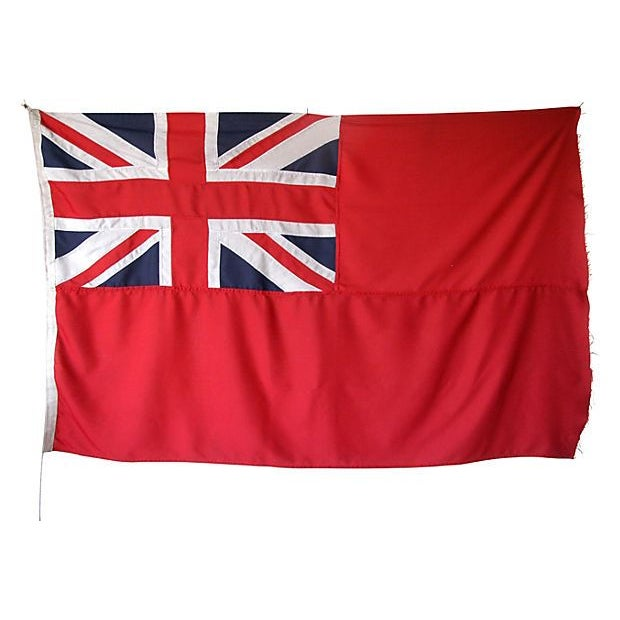 1950s British Civilian Vessel Ensign Flag - Image 1 of 3