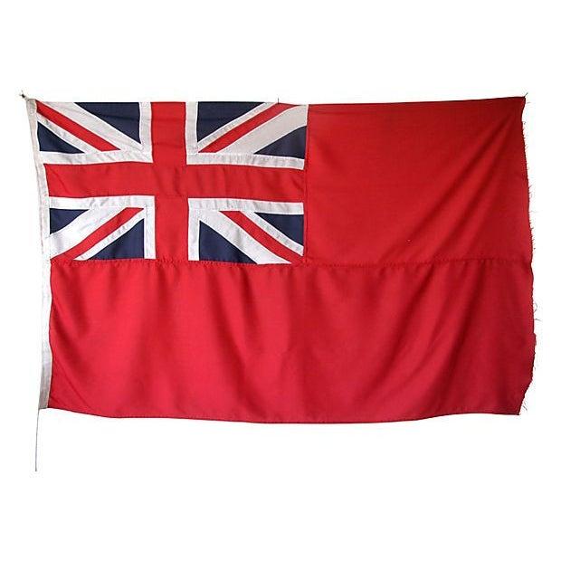 Image of 1950s British Civilian Vessel Ensign Flag