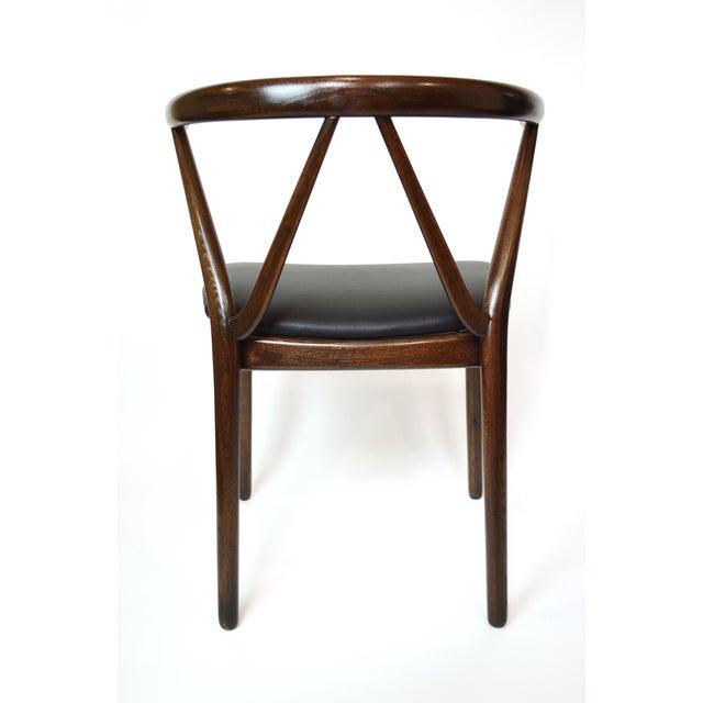 Danish Bruno Hansen Dining Chairs - A Pair - Image 6 of 10