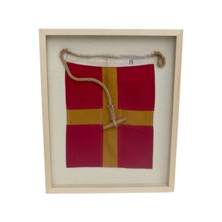 International Signal Boat Flag with Letter R