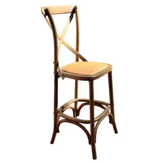 Rattan Seat Counter Stool