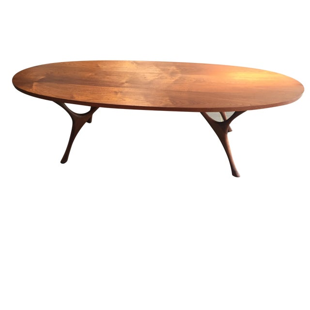Image of Mid-Century Coffee Table Attributed to Kagan