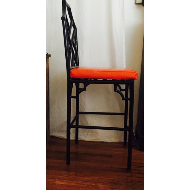 Chinese Chippendale Bar Stools - 3 - Image 3 of 5