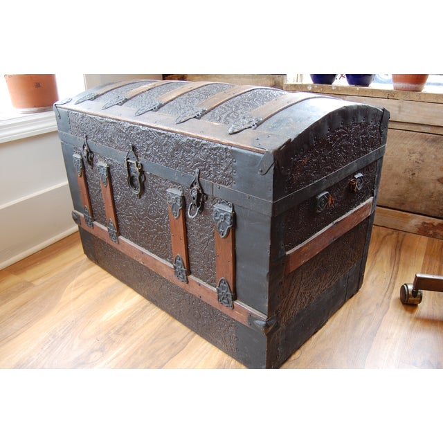 Antique 1800's Trunk - Image 6 of 7