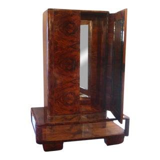 Italian Deco Gentleman's Changing Cabinet