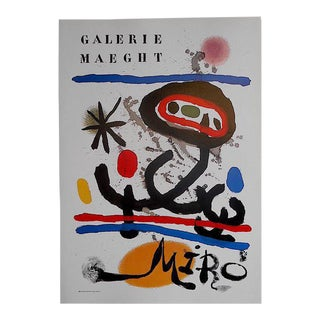 Vintage Poster Lithograph - Joan Miro