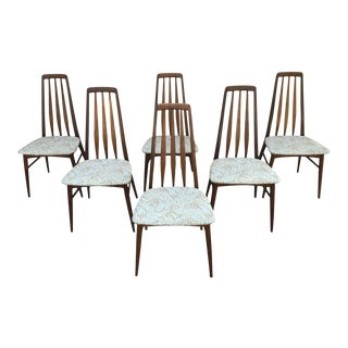 Niels Koefoed Eva Mid-Century Dining Chairs - Set of 6