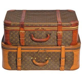 Louis Vuitton Luggage - A Pair