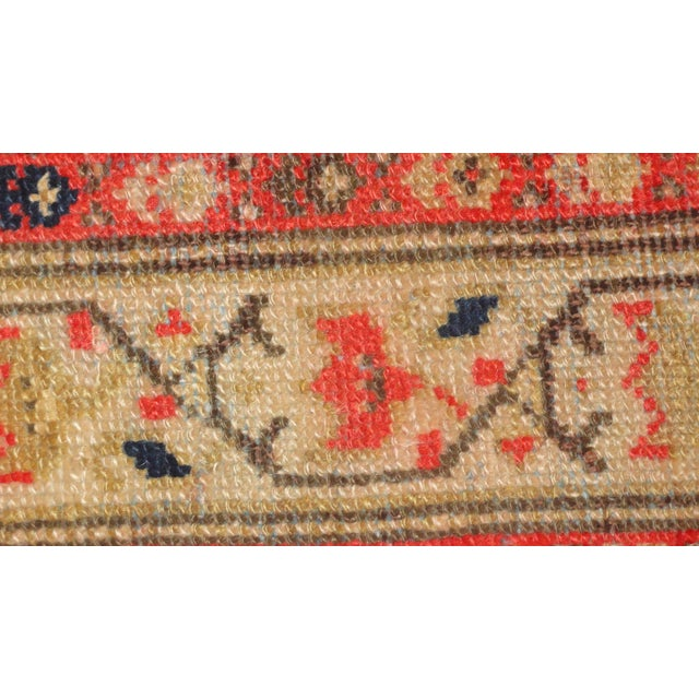 """Antique Persian Malayer Runner Rug - 3'3"""" x 15'4"""" - Image 3 of 4"""