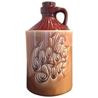 McCoy Vintage Brown Ceramic Cookie Jar