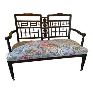 Antique Eastlake Settee Bench