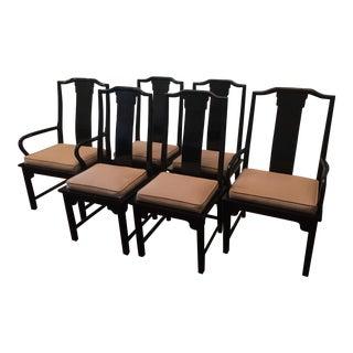 Century Furniture Chin Hua Dining Chairs- Set of 6