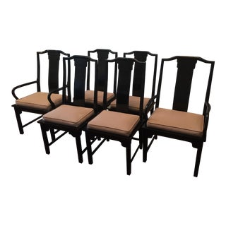 Century Furniture Chin Hua Dining Chairs- Set of 6