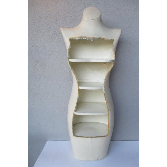 Image of Boho Glam Body Form Mannequin Retail Store Display Shelf