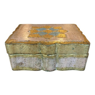 Vintage Florentine Jewel Box