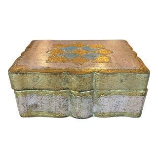 Vintage Florentine Jewel Box