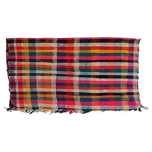 Moroccan Striped Blanket - Image 5 of 7
