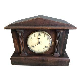 Old Waterbury Mantle Clock