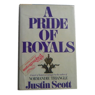 Nautical 'A Pride of Royals' Book, Autographed