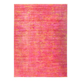 "Vibrance, Hand Knotted Area Rug - 8'9"" X 11'9"""