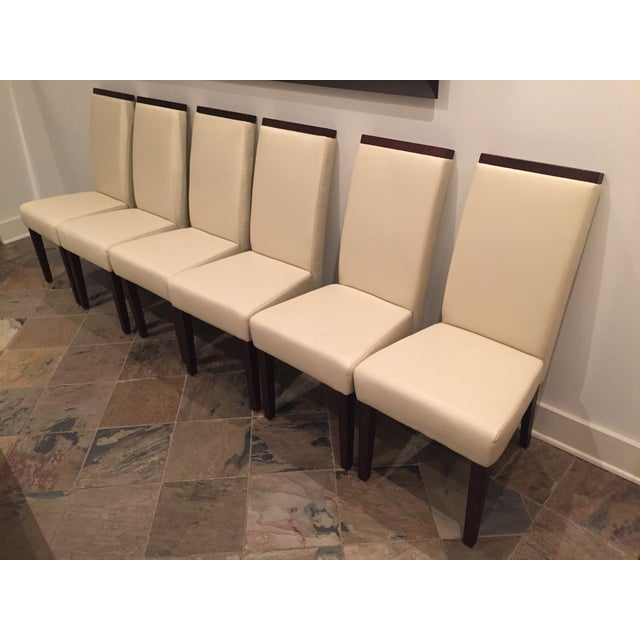 Contemporary Dining Chairs - Set of 6 - Image 4 of 5
