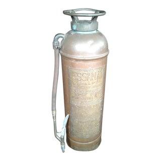 1900's Essanay Soda & Acid Fire Extinguisher