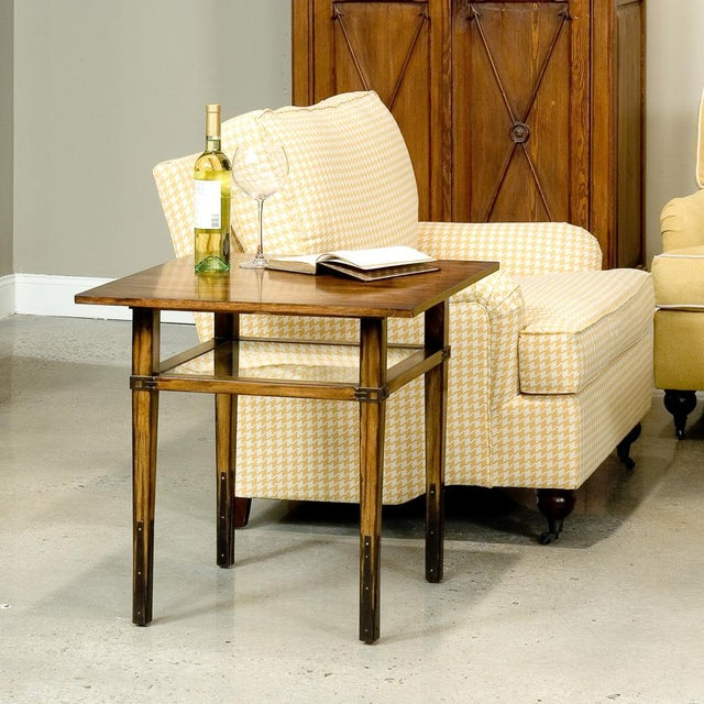Sarreid Ltd. Taper Square Side Table - Image 2 of 3