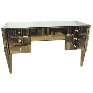 Art Deco Style Mirrored Vanity