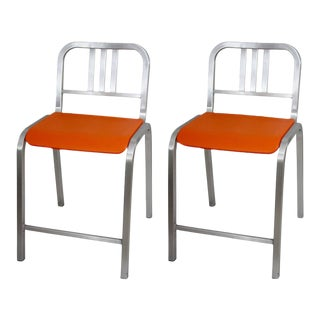 Emeco Bar Stools by Ettore Sottsass - A Pair