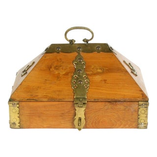 Wood Malabar Dowry Box