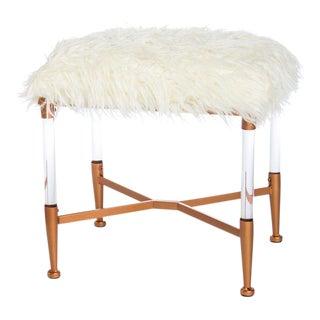 Mireille Acrylic Bench