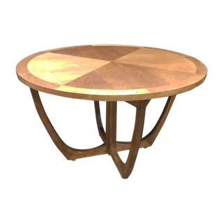Mid-Century Danish Round Rosewood Dining Table