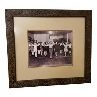 Vintage Jack Lalanne Framed Photograph