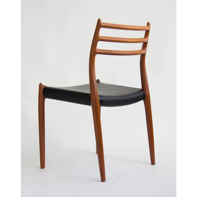 Niels Møller #78 Dining Chairs - Set of 6 - Image 7 of 11