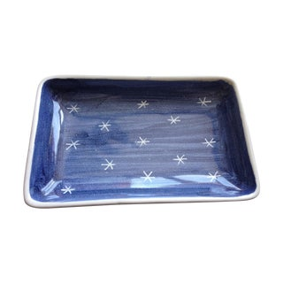 Starry Norwegian Ceramic Tray