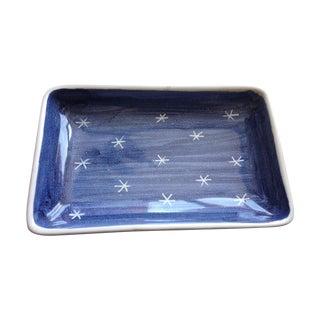 Starry Norwegian Ceramic Tray