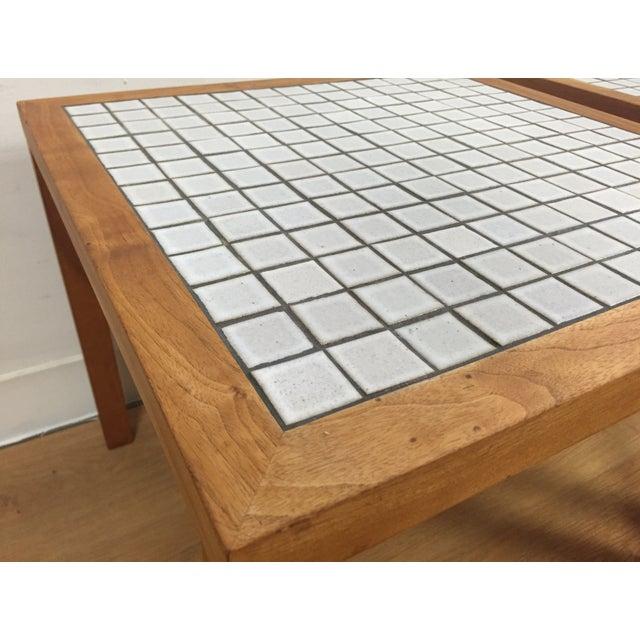 MCM Teak & Tile End Tables - A Pair - Image 5 of 7