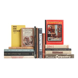 The Art of Carpentry Book Collection - Set of 15