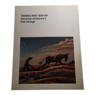 """Thomas Hart Benton: Chronicler of America's Folk Heritage"" Book"