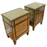 Image of Mirrored Side Tables - Pair