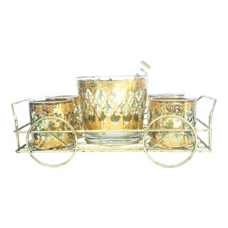 Culver Vintage Mid- Century Bar Set