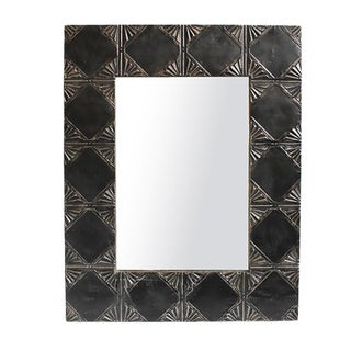 Ceiling Tin Blackened Mirror