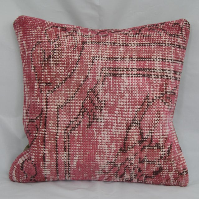 Turkish Handmade Kilim Pillow - Image 2 of 5